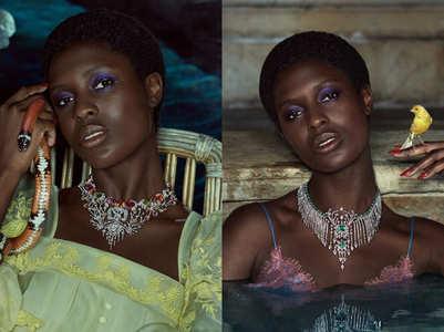 Turner-Smith's stylish Gucci campaign