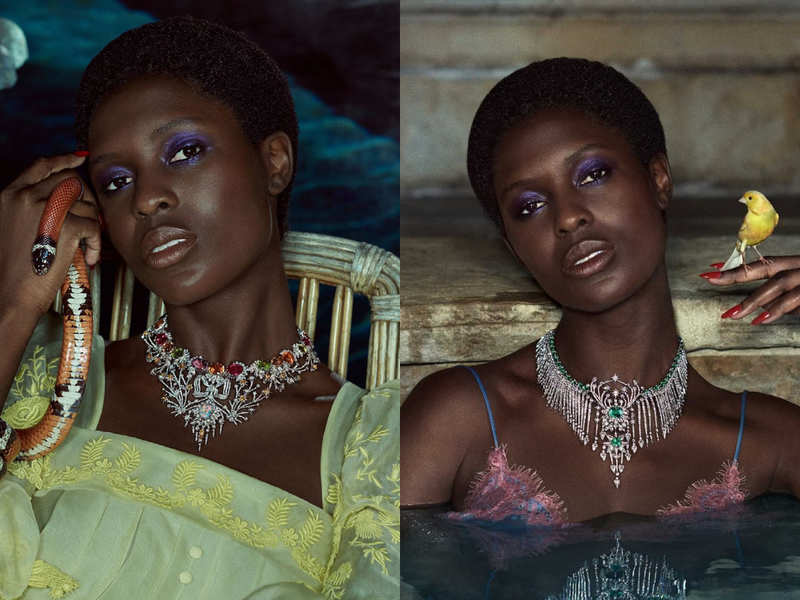Jodie Turner-Smith looks breathtaking in Gucci's new campaign