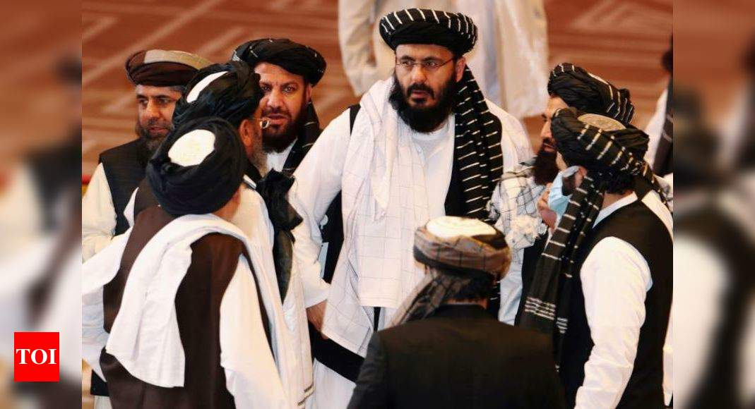 Indian officials engaging with Taliban 'quietly'   India News - Times of India