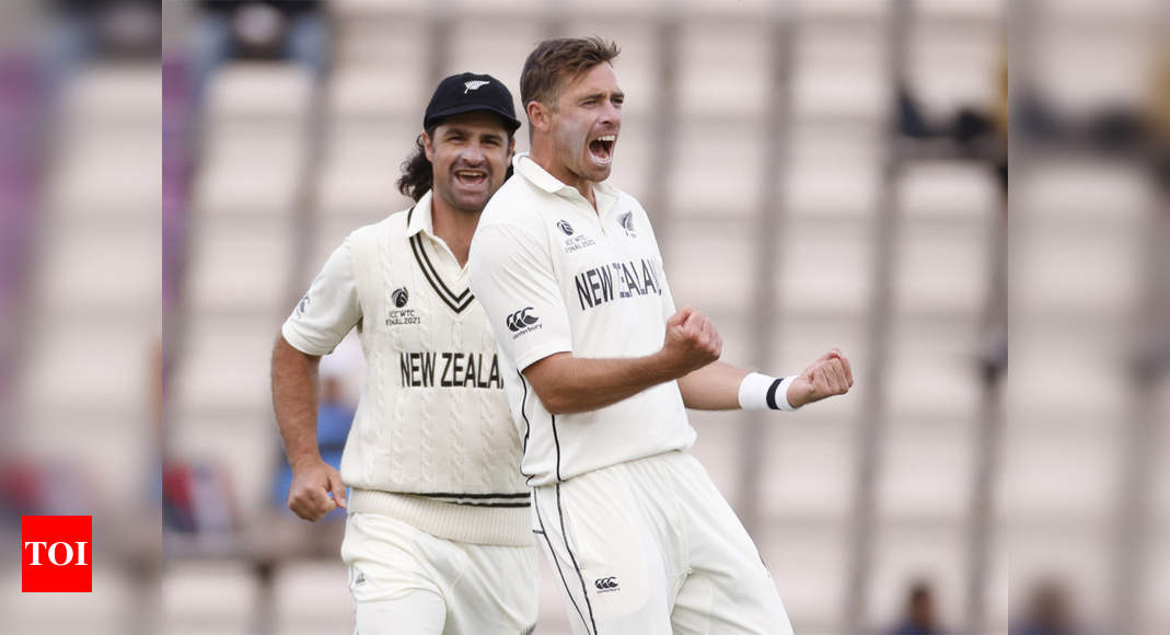 WTC Final: First session on final day crucial, says Southee