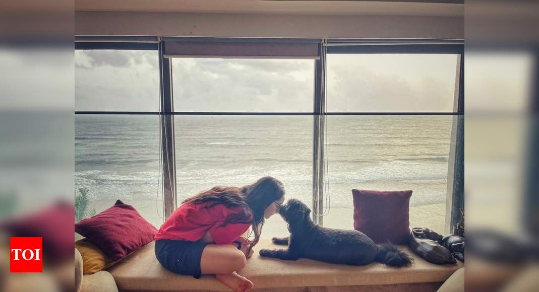 Shraddha shares adorable pic with Shyloh