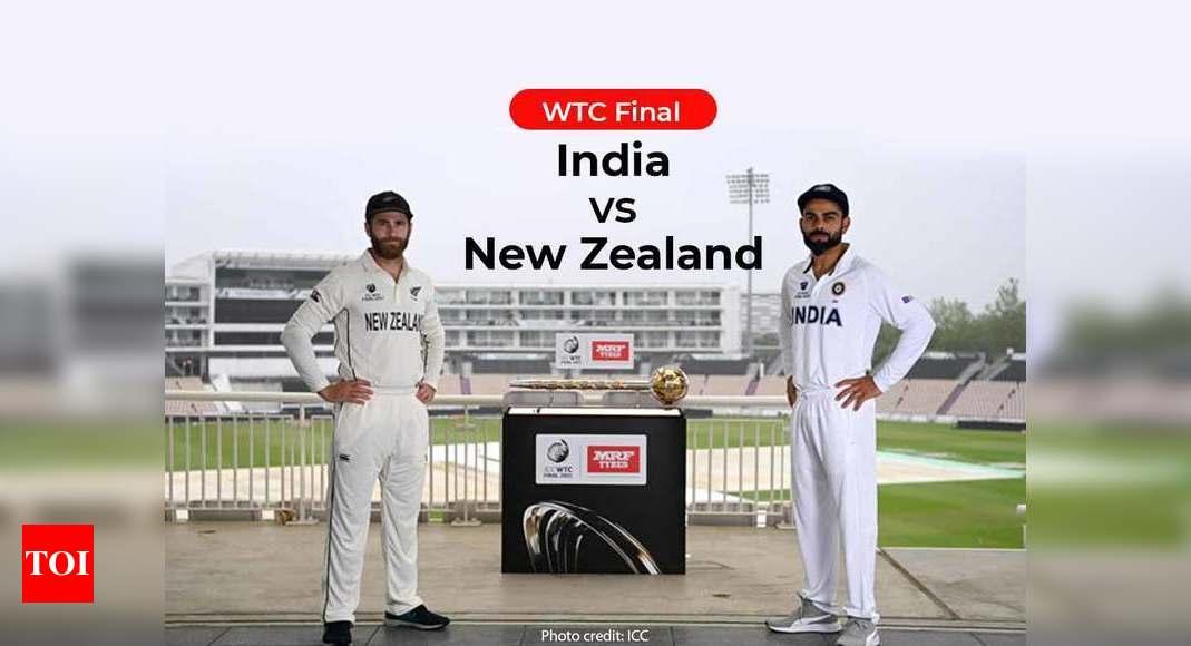Live Cricket Score, IND vs NZ WTC Final