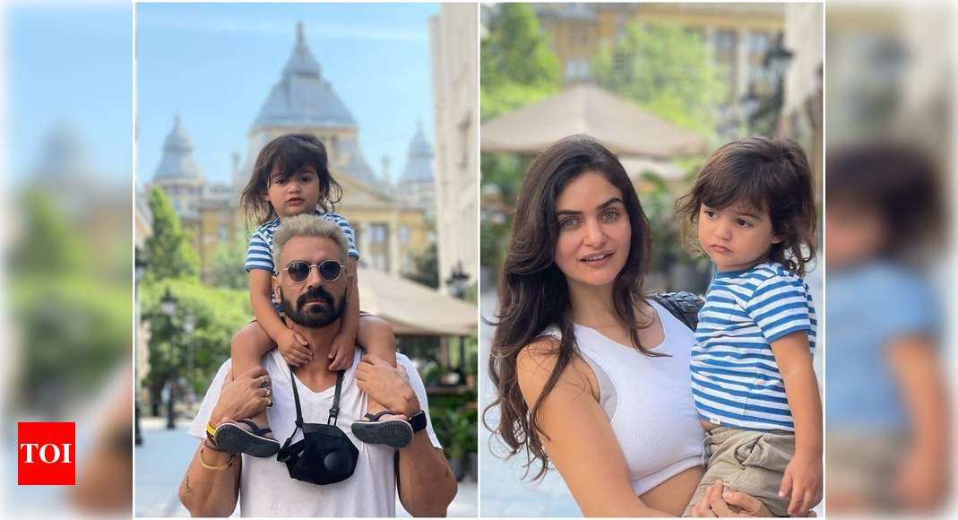 Arjun Rampal holidays in Budapest with family