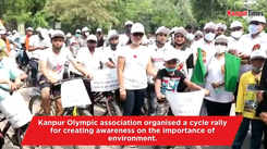Cycle rally organised in Kanpur