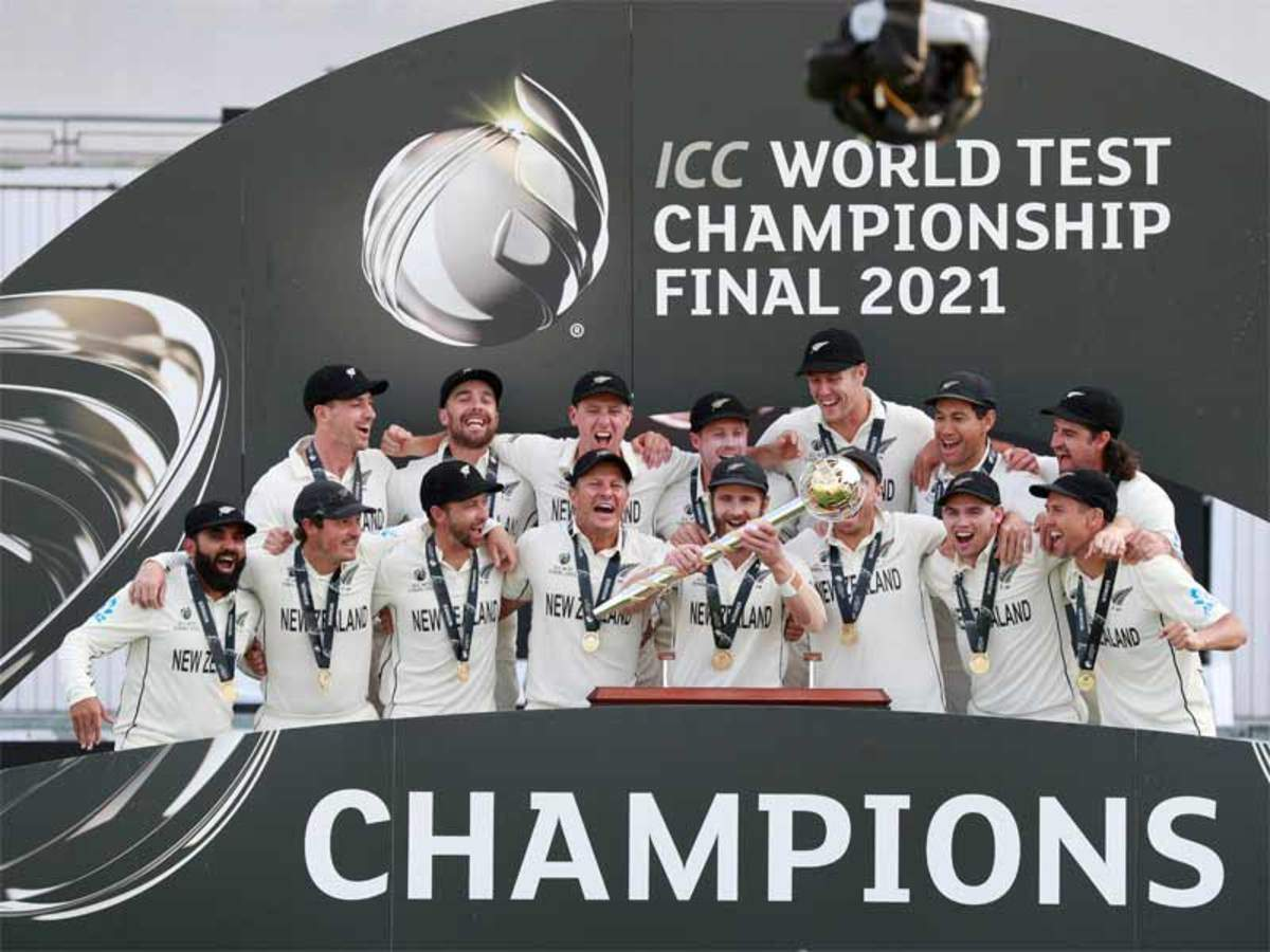 New Zealand beat India to win inaugural World Test Championship | Cricket  News - Times of India
