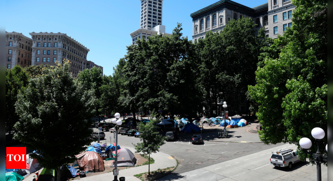 Pressure to condemn Seattle park with large homeless population