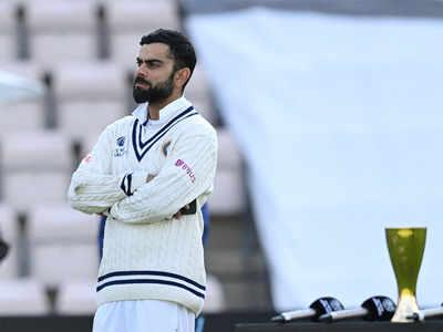 India vs New Zealand: Virat Kohli defends team combination after WTC final defeat   Cricket News - Times of India
