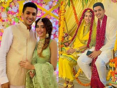 Pics: Sana-Imaad's pre-wedding festivities