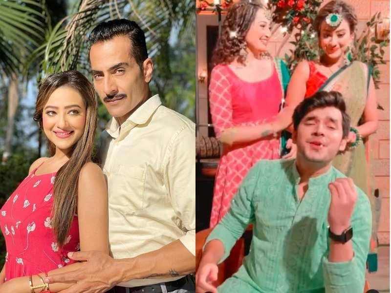 Anupamaa: Sudhanshu Pandey's reel wife Madalsa Sharma posts a fun video with stepson Paras Kalnawat, watch