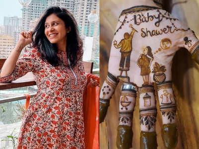 Kishwer gets ready for her 'godh bharai'