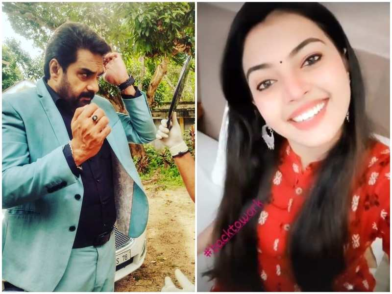 Malayalam TV celebs share their excitement about resumption of shootings; say, 'We are back'