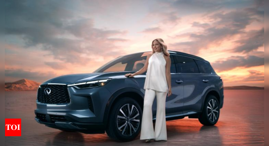 QX60: Nissan's Infiniti reveals 2022 QX60 with Kate Hudson – Times of India