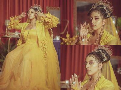 Raja Kumari looks every inch the queen