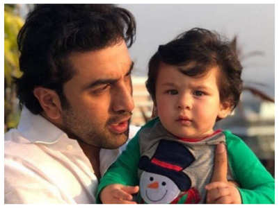 When Ranbir confessed to being a Taimur fan
