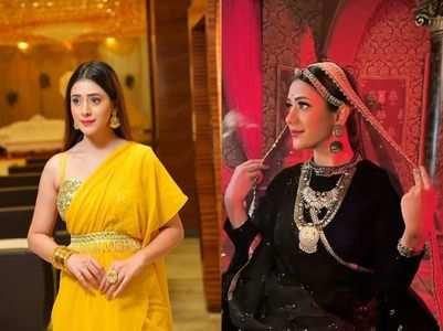 Hiba Nawab on double role in 'Jijaji...'