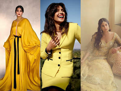 All the yellow ensembles we loved on B'Town divas