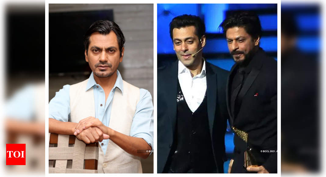 THIS is what Nawazuddin Siddiqui feels is the difference between working with Shah Rukh Khan and Salman Khan – Times of India