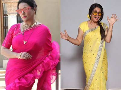 Sucheta: Bindi beautifies an Indian attire