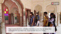 With safety measures in place, Jaipur monuments reopen for tourists