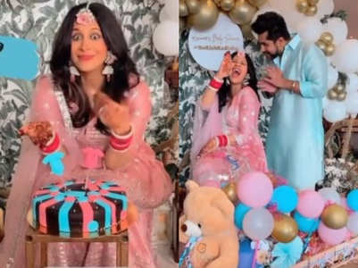 Inside pics from Kishwer's baby shower