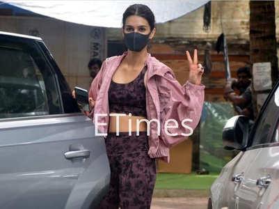 Kriti starts prep for Ganapath action scenes