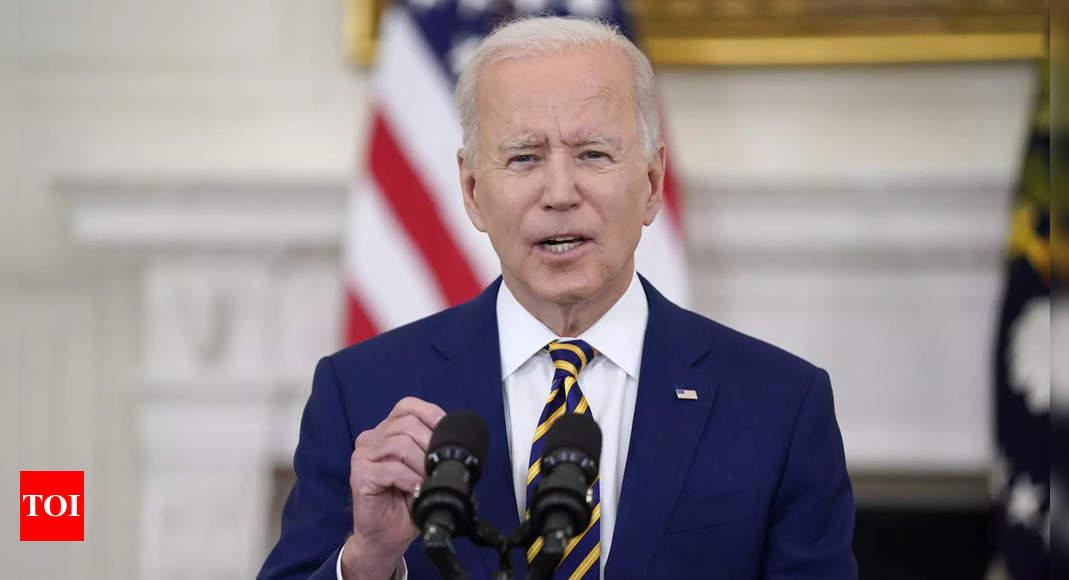 Joe Biden calls closure of Hong Kong's Apple Daily 'sad day for media freedom' - Times of India