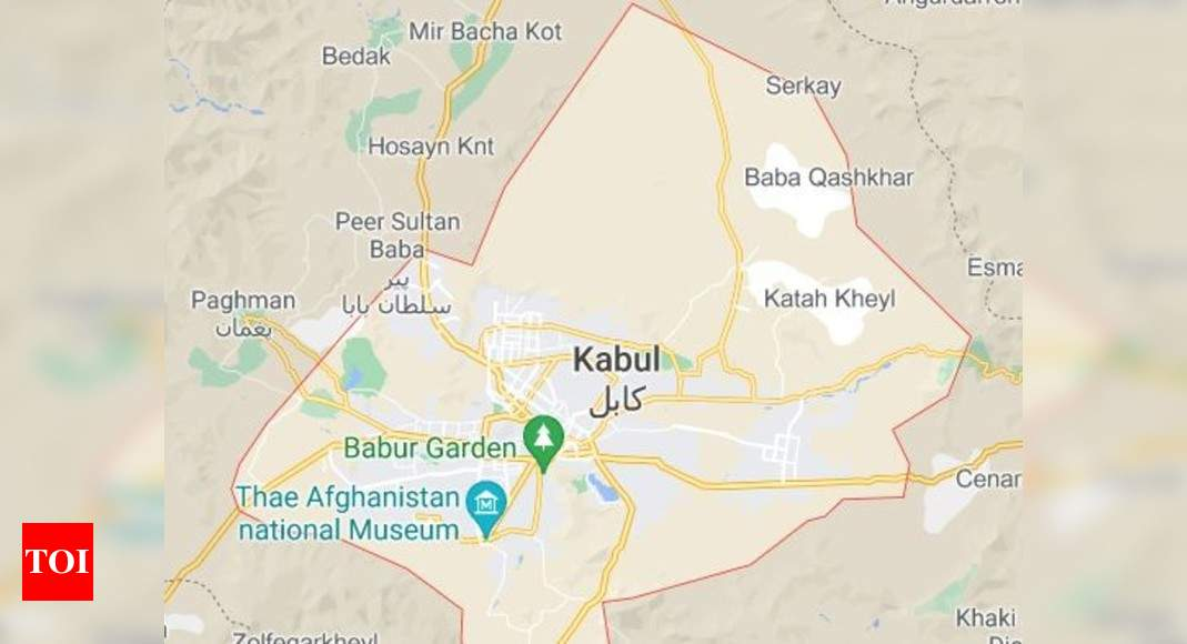 Strong 5.1 earthquake rattles Afghanistan's capital – Times of India