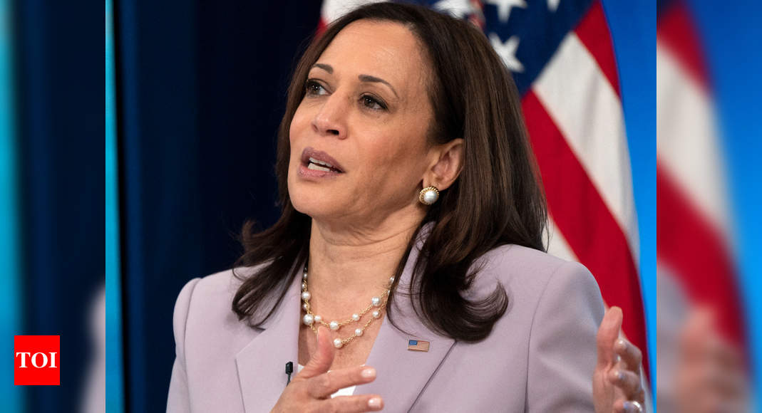 Kamala Harris heads to border after facing criticism for absence - Times of India