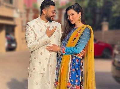 Gauahar-Zaid celebrate 6 months of marriage