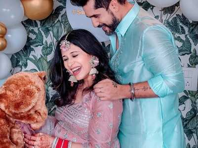 Kishwer Merchant's post after baby shower