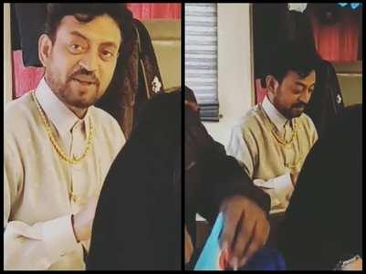 Sutapa shares a video of Irrfan Khan