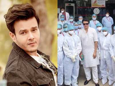 Aniruddh Dave discharged from the hospital
