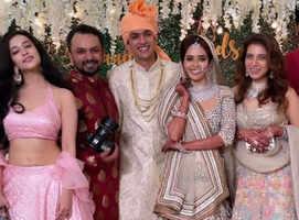 PICS: Sana Sayyad gets married to Imaad Shamsi