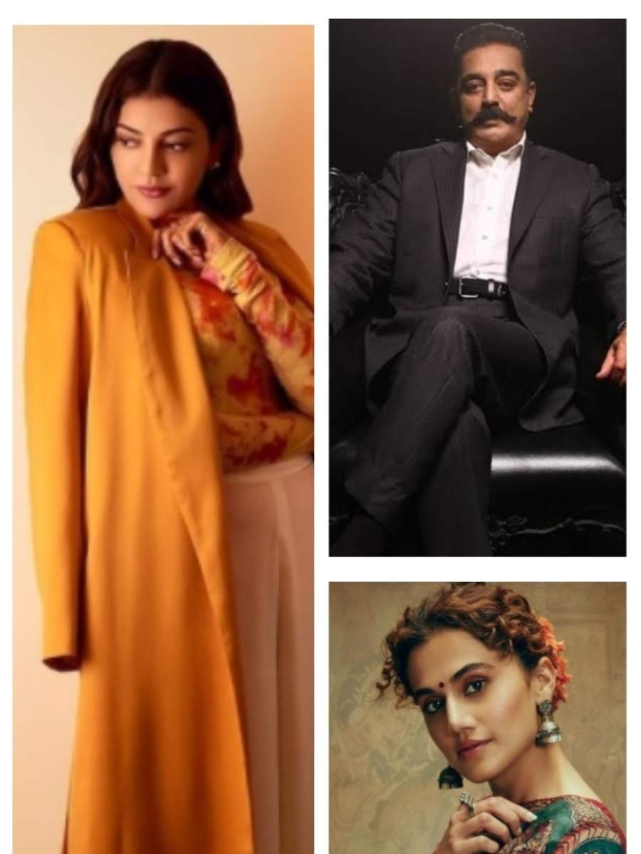 Kamal Haasan, Kajal Aggarwal, Taapsee Pannu: Educational qualification of Tamil actors
