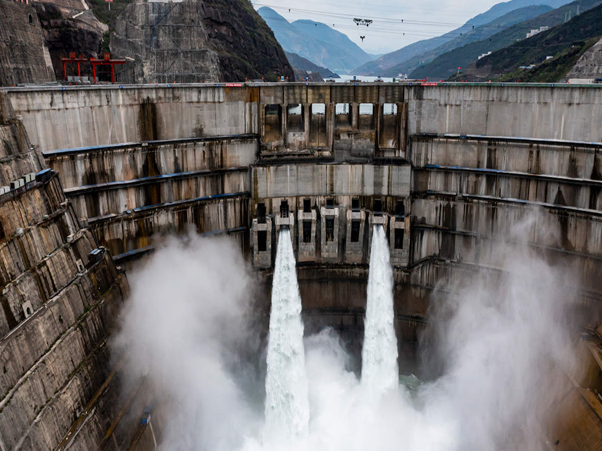 China turns on world's second-biggest hydropower dam - Times of India