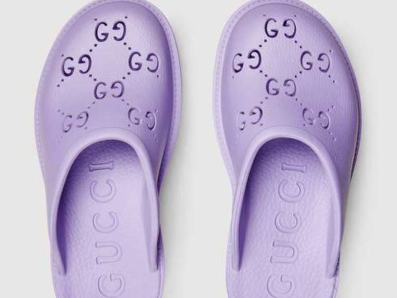 Gucci's VERY EXPENSIVE rubber sandals will remind you of your good old Crocs!