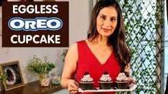 Watch: How to make Eggless Oreo Cupcake