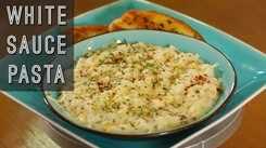 Watch: How to make White Sauce Pasta