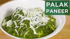 Watch: How to make Palak Paneer