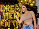 Rakhi Sawant gets goofy at the success party of her song 'Dream Mein Entry'