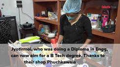 Phuchka treats save engineer bro-sis from financial crunch