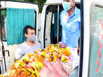 Raj Kaushal's funeral pictures