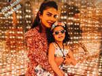 Priyanka Chopra stuns in flirty floral dress; enjoys fun time at family outing