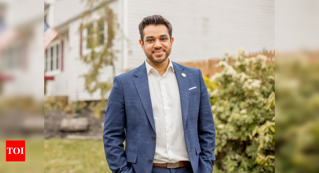Indian-American candidate for Edison mayor is proud of his heritage – Times of India