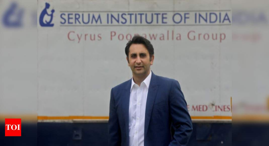 Adar Poonawalla says EU green pass Covishield issue has been 'blown out of proportion' | India News – Times of India
