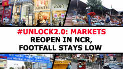 Markets reopen in NCR, footfall stays low