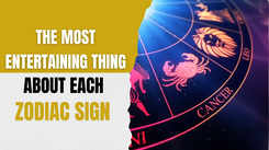 The most entertaining thing about each zodiac sign