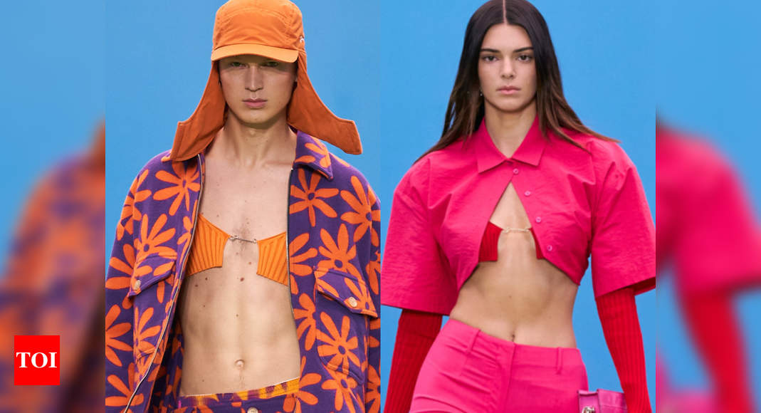 Jacquemus introduces bralette for men aka brolet – Times of India