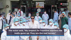 Aniruddh Dave expresses his gratitude towards doctors