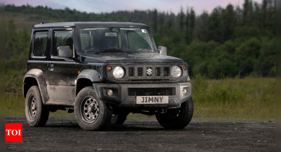 Suzuki Jimny commercial vehicle introduced globally – Times of India